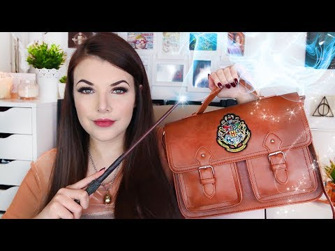 WHAT'S IN MY BAG? (Harry Potter Edition) | Cherry Wallis