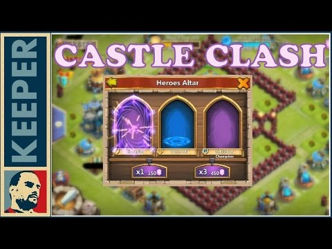 Castle Clash (41. Rész) INGYEN 100 GEM Naponta Event. ( Sign-In And Win Prizes