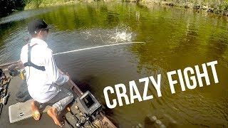 The HARDEST Fighting Fish I've Ever Seen!! Fishing The Hottest Day Of Summer
