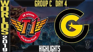 SKT vs CG Highlights Game 1 | Worlds 2019 Group C Day 4 | SK Telecom T1 vs Clutch Gaming