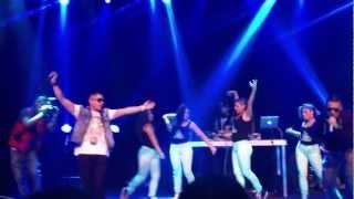 Neilo & Adriel - Estoy Enamorado (Live, J Alvarez Concert Stockholm) 2012