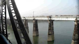 Crossing Narmada River By Patalkot Exp at Hoshangabad