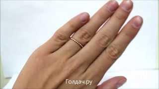 Кольцо бе камней Weeks z7334384