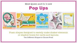 Queen and Company Pop Ups Card Tutorial