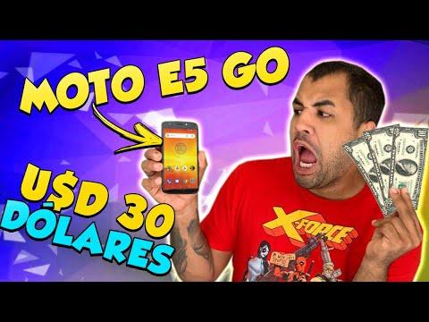 CELULAR DE 30 DÓLARES - VALE A PENA? MOTO E 5 GO