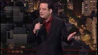Andy Kindler on The Late Show with David Letterman 1/14/05