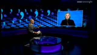 Steven Pinker on the decline of the full stop - Newsnight