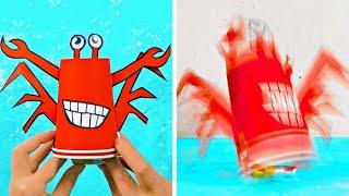 지금 만들 수 있는 재미있는 DIY 장난감 21가지