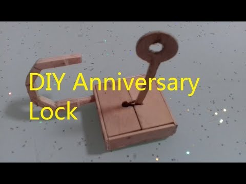 How To Make A Working Safe Lock From Popsicle Sticks