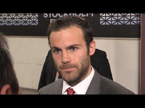 Juan Mata Interview - Europa League Final - Dedicates Europa League Win To The People Of Manchester