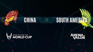 CN vs SA | Group Stage Day 1 | AWC 2018
