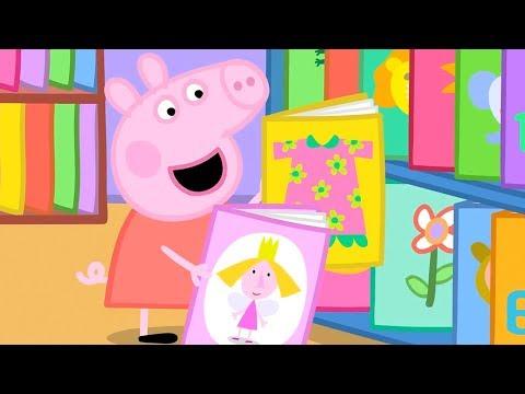 Мультфильм свинка пеппа смотреть все серии подряд бесплатно