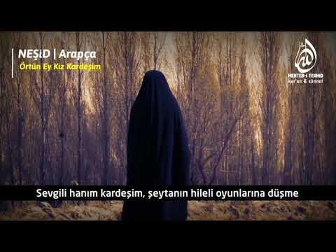 Ey kız kardeşim üzerinde taşıdığın çarşaf değil ALLAH'IN ayetidir