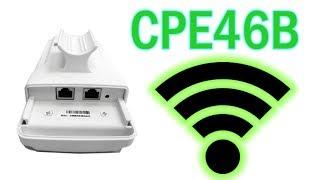 CPE46B обзор уличной Wi-Fi точки доступа с Алиэкспресс