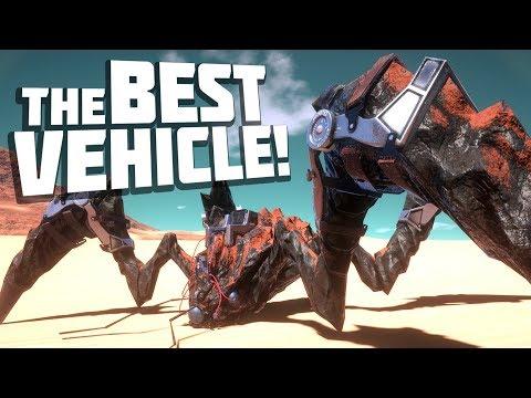 Osiris New Dawn - ZOMBIE CRAB MONSTER MECHA! Best Vehicle Ever! - Osiris New Dawn Gameplay