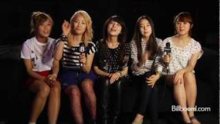 Download Wonder Girls Billboard Q&A MP3 song and Music Video