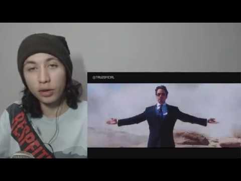 React 1191 Rap do Homem de Ferro | Tauz RapTributo 62