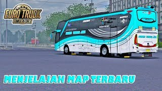 Bus Banter Asal Maospati STJ I Nerazzurri Keliling Map D'Java | ETS2 MOD INDONESIA