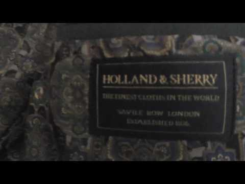 My Favourite Suit: Tailor made by Holland & Sherry of Savile Row, London