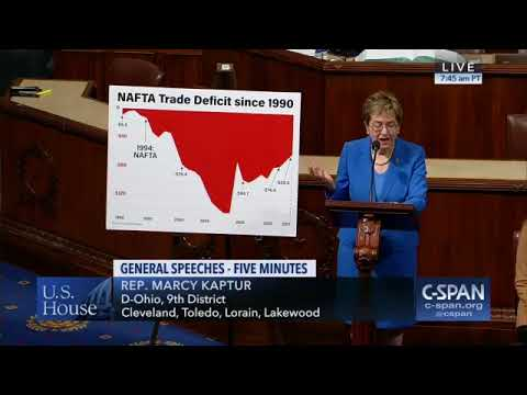 Trump & NAFTA Are a Danger to Workers - Rep. Marcy Kaptur