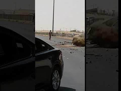Accident caught on Camera in Saudi Arabia !!!!!!!