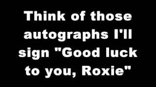 """Roxie"" from Chicago karaoke/instrumental (Key: Ab-A-Bb)"