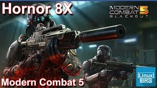Gameplay Android - Modern Combat 5 - Huawei Honor 8x