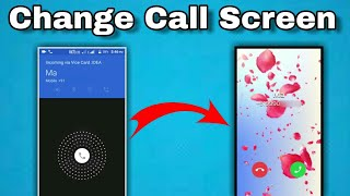 How To Change Caller Screen Any Phones | Amazing Look | DK 4 You Technical.