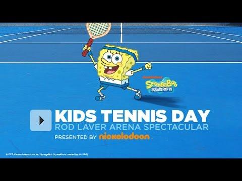 Kids Tennis Day - Australian Open 2015