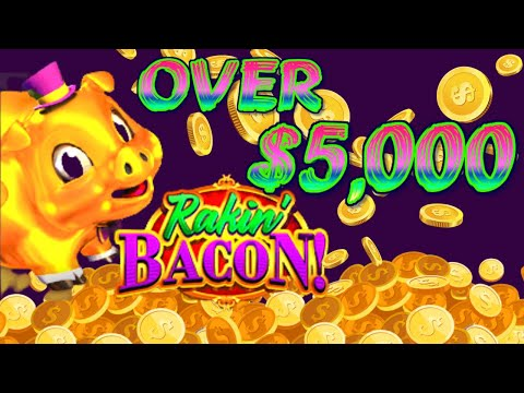 Rakin bacon slot game