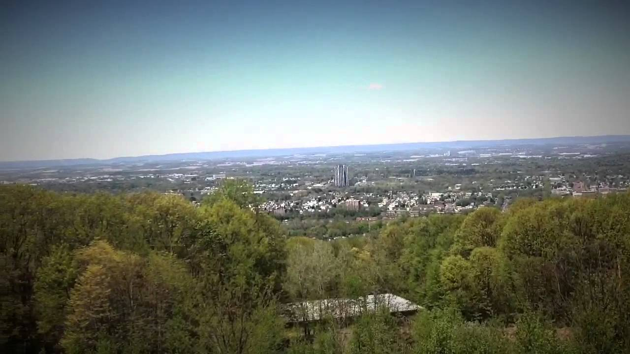 View Of Lehigh Valley From Top Of South Mountain In