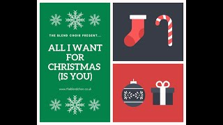 ALL I WANT FOR CHRISTMAS (IS YOU)
