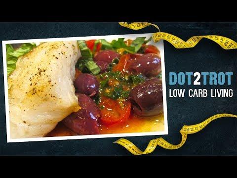 Keto White Fish Recipe With Tomato And Herb Salsa