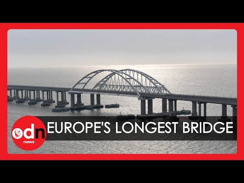 Putin Opens Europe's Longest Bridge Linking Russia and Annexed Crimea