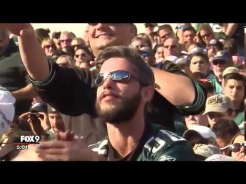 Vikings fans flock to Philadelphia