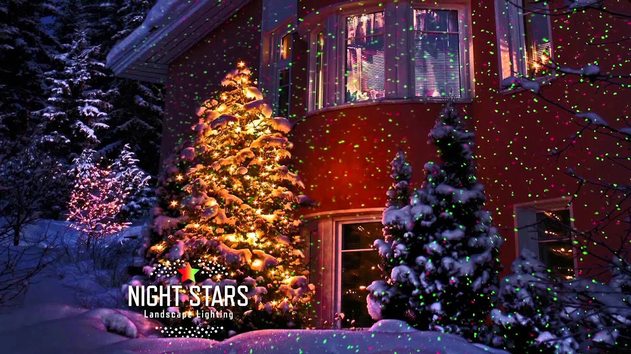 Outdoor Christmas Star Light