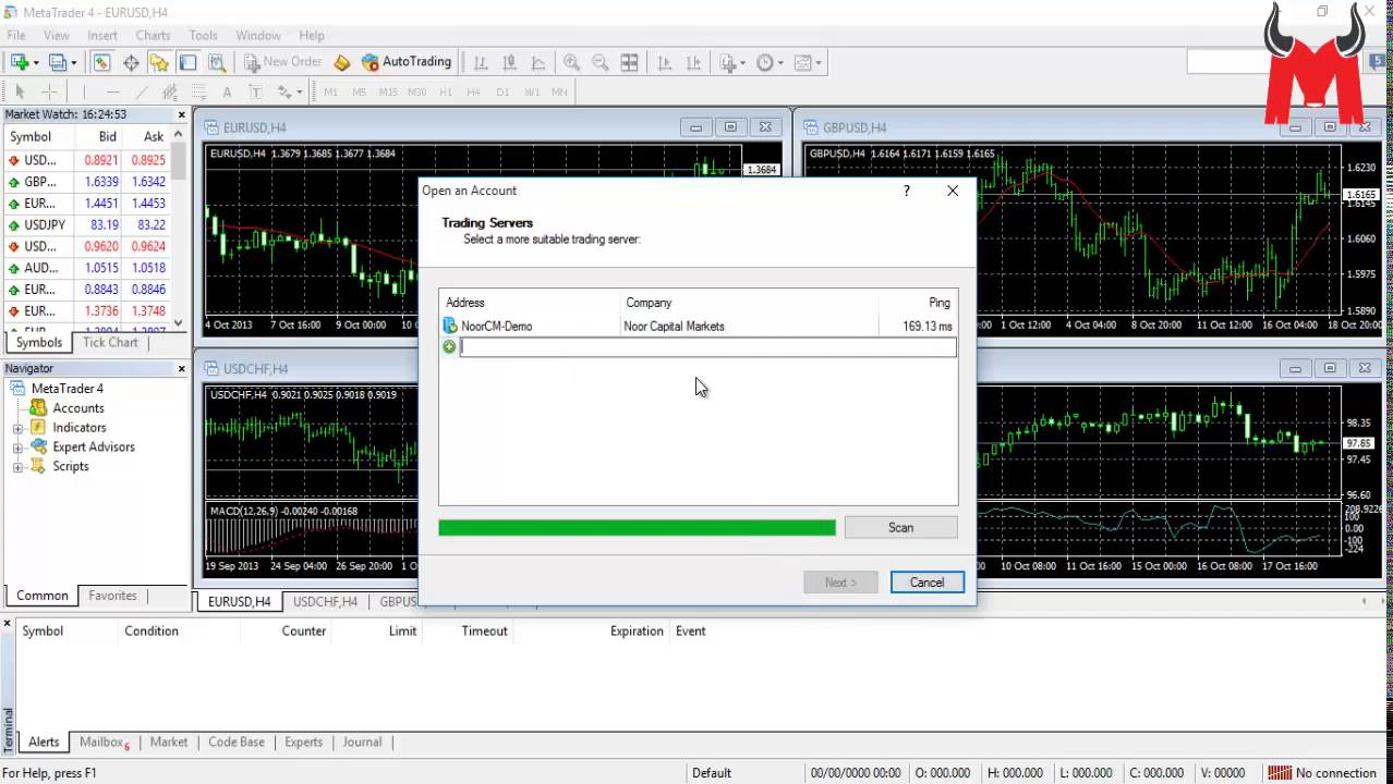 How To Install Mt4 Open A Demo Trading Account In Metatrader 4