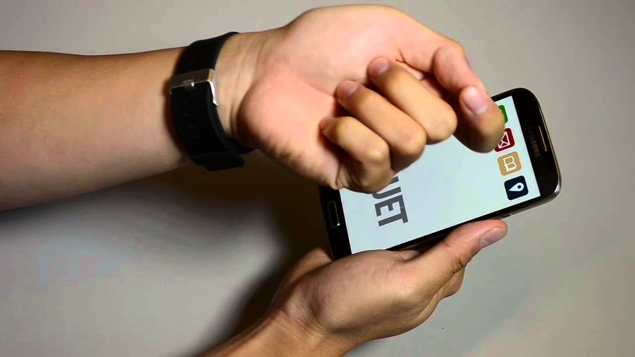 Duet: Exploring Joint Interactions on a Smart Phone and a Smart Watch