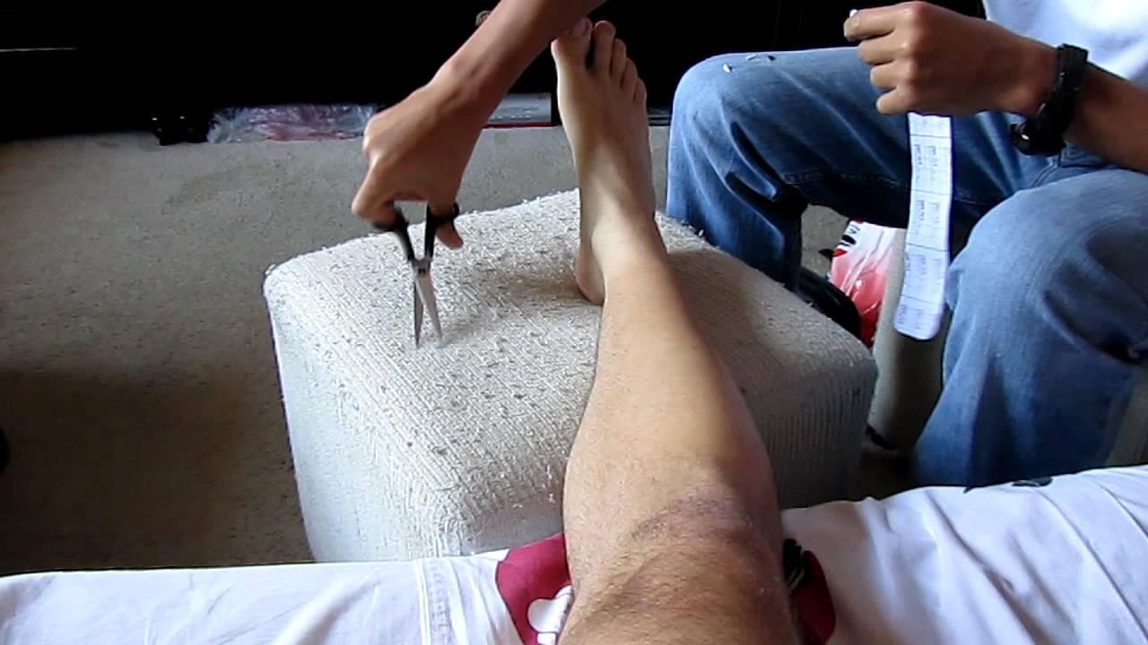 667b86f5d4af9 Aplicação de bandagem elástica - YouTube