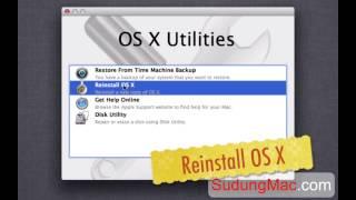 Hướng dẫn cài Mac OS X 10.8 Mountain Lion