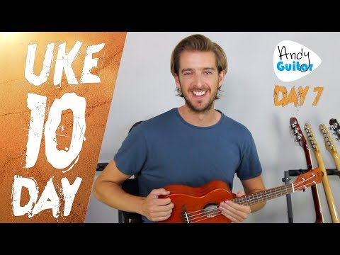 Ukulele Lesson 7 - Happy Birthday Ukulele Tutorial - How to play Ukulele