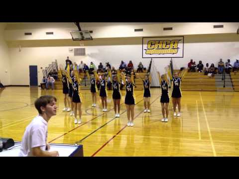 Cottage Hill Christian Academy Cheerleaders 2012 - Last Performance