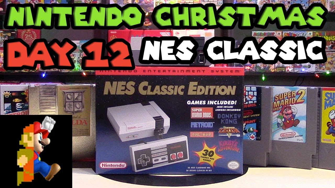 Nintendo Christmas Day 12 Nes Classic Watermelon N64 Emerald