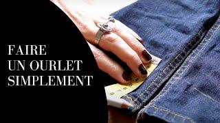 Comment faire un ourlet de jean?