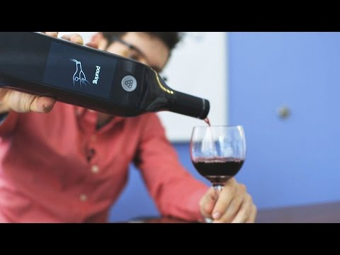 Kuvée's ridiculous Wi-Fi connected wine bottle