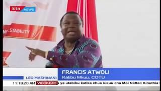 Viongozi wamshutumu vikali Atwoli baada ya kudai kuwa Naibu Rais hatagombea urais 2022