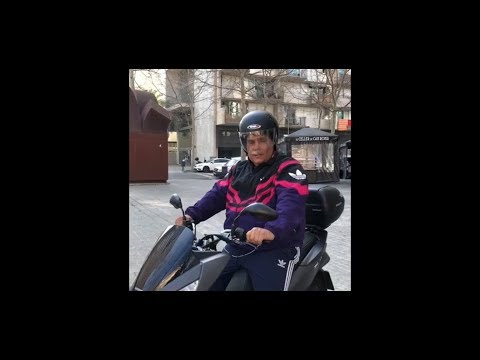 Barcelona en moto