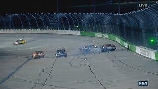 NASCAR Xfinity Series 2017. Iowa Speedway. Christopher Bell & Ryan Reed Crash