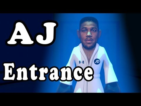 Unseen footage of Anthony Joshua Entrance !