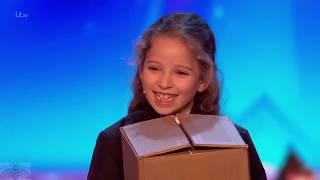 Asombrosa Maga de 8 años Issy Simpson en Britain's Got Talent - subtitulos español